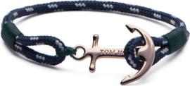 Tom Hope Mediterranean Green S Armband (lengte:16.50-18.00 cm) T0071