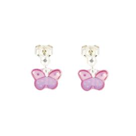 Zilveren Earrings Butterfly