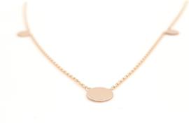 Cataleya Jewels - collier - 3x cirkel