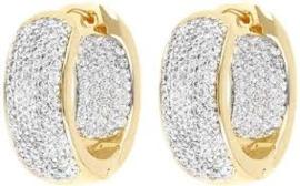 Altissima Pave Hoops earrings WSBZ00413Y.Y-W