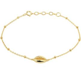 Armband schelp 2,0 mm 16,5 + 2 cm