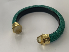 Barong Barong - Armband- stingray /Citrien -groen/geel