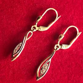 occasion gouden oorbellen