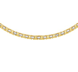Collier konings plat 4,6 mm 50 cm