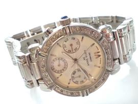 Occasion Anne Klein horloge met diamant