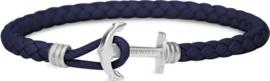 Paul Hewitt PHREP Lite PH-PHL-L-S-N-S - Armband - Blauw - Leer - S