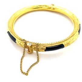 Occasion Indiase 24k gouden bangle armband