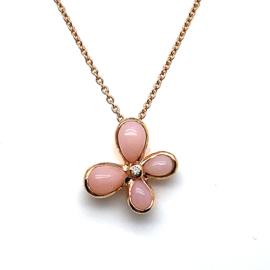 Arthur scholl hanger pink opal - diamant