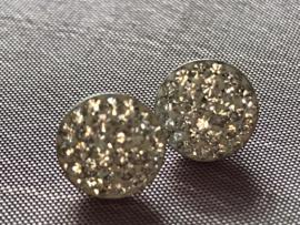 Occasion zilveren oorstekers met zirkonia