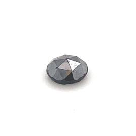 Zwarte roosgeslepen diamant - 0.89 ct