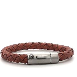 Zero Jewels - Amsterdam - armband - cognac
