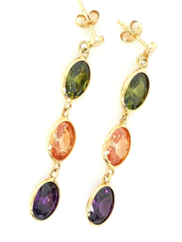Cataleya Earrings Tutti Frutti