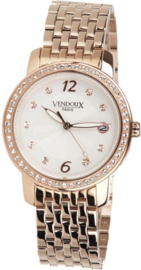 Vendoux MR41282-02 - Horloge - 38 mm - Rosékleurig