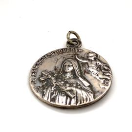 Occasion munt hanger met Katholieke afbeelding