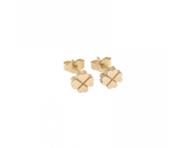 Just Franky Capital Earring Clover Pair