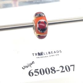 Trollbeads Unique bead SCHILPAD