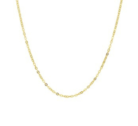 Collier anker plat 1,3 mm 38 cm