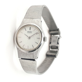 Seiko dames horloge staal occasion