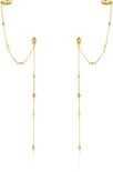 Ania Haie Oorhangers AH E016-01G - Zilver Goldplated
