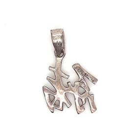 Zilveren hanger Chinees teken