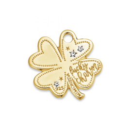 Occasion Mi Moneda Lucky Clover Gold Plated