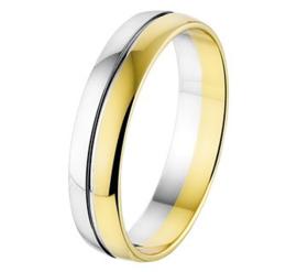 Relatie Ring  - 5 mm - zonder steen