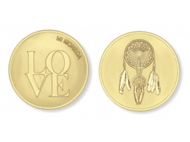 Mi Moneda Love & Dreamcatcher goud large