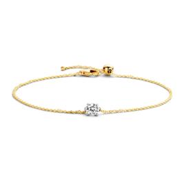 Blush Armband 2166BZI - Geel en wit goud  met Zirconia