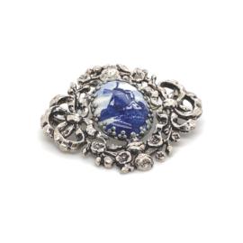 Oud-Hollandse zilveren occasion broche