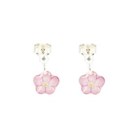 Zilveren Earrings Flower