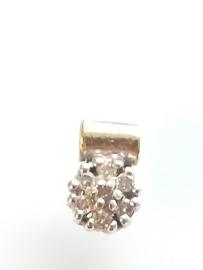 Occasion hanger rozet met diamant