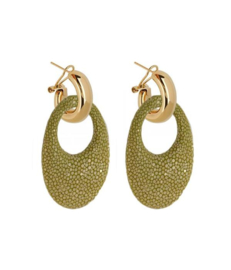 AMJOYA Earrings Marbella Kiwi