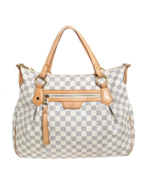 LOUIS VUITTON Damier Azur Canvas Evora MM Bag