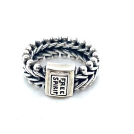 Occasion zilveren Free Spirit ring