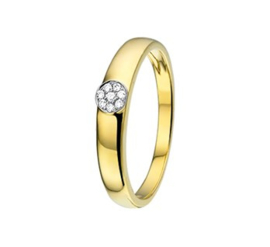 Ring diamant 0.05 ct.