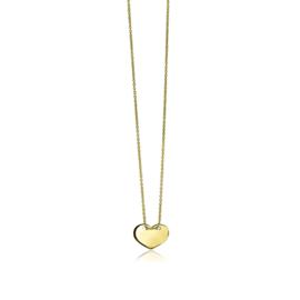 Cataleya Jewels collier met hartje 14 kt