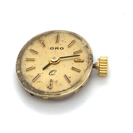 Occasion uurwerk en glas Oro