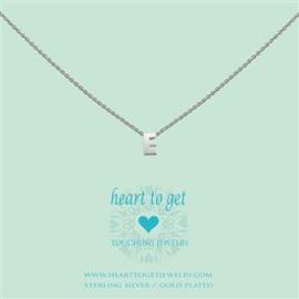 Heart to Get - Hanger E - Zilverkleurig