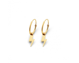 Just Franky Iconic Earring Thunder charm Pair
