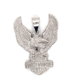 Zilveren hanger met adelaar