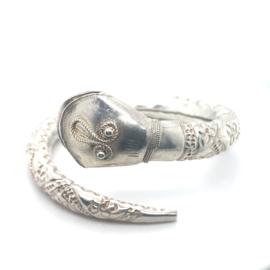 Occasion zilveren filigrain bangle slang