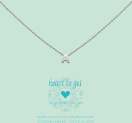 Heart to Get - Hanger A - Zilverkleurig