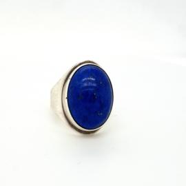 Occassion ring met lapis lazuli edelsteen