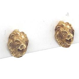 Occasion gouden leeuw oorknoppen