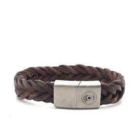 Zero Jewels - Medellin - armband - donkerbruin