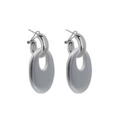 AMJOYA Earrings Buffelhorn Silver