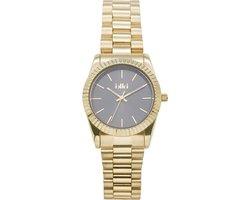 IKKI BRONX BX12 Horloge - Goud/Grijs