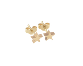 Just Franky Capital Earring Star Pair