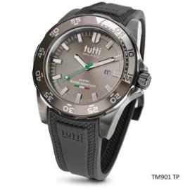 Horloge Tutti Milano, TM901, grijs ,  48 MM