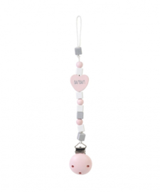 Spenenketting Heart Pink
